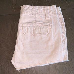Bke casuals light pink Payge jean shorts